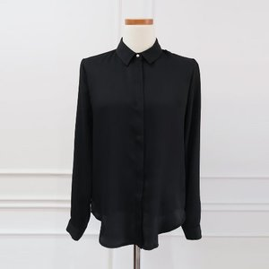 [HASEL LUXE/헤이즐모드자체제작/당일발송] Blossom Blouse (color black)